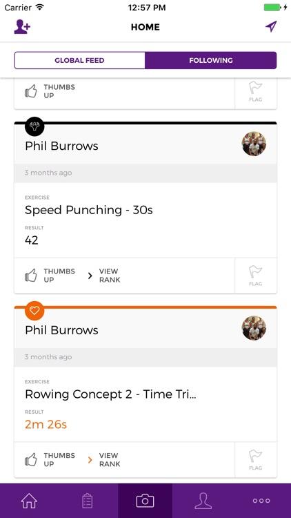 GymFit: The fitness social network. screenshot-4