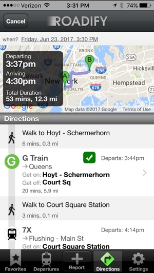 how to get service on iphone roadify transit subway bike on the 3159