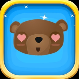 BearMoji - 80+Cute Bear Emojis for Bear Lovers