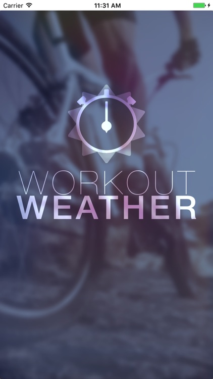 Workout Weather