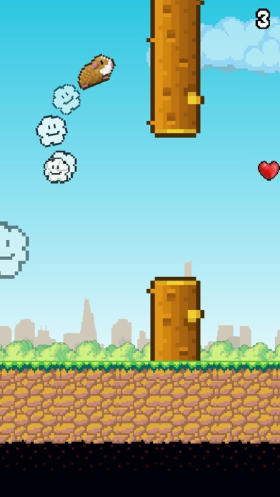 Flappy Hamster screenshot two