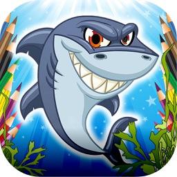 跳跃的鲨鱼-好玩的休闲小游戏