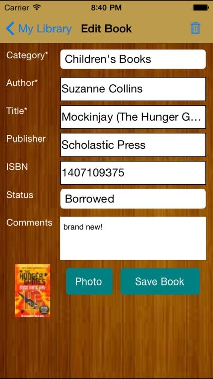 My Library Basic screenshot-3