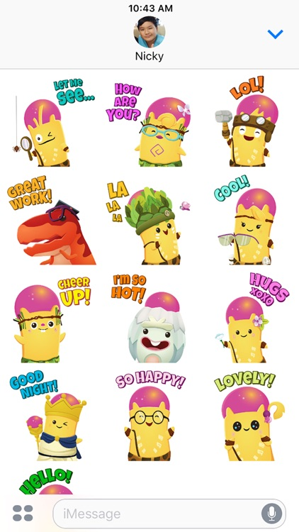 Brainy Arkies Stickers screenshot-4
