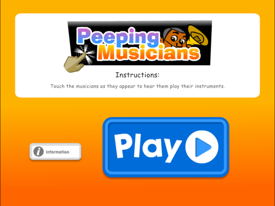 Peeping Musicians iPad