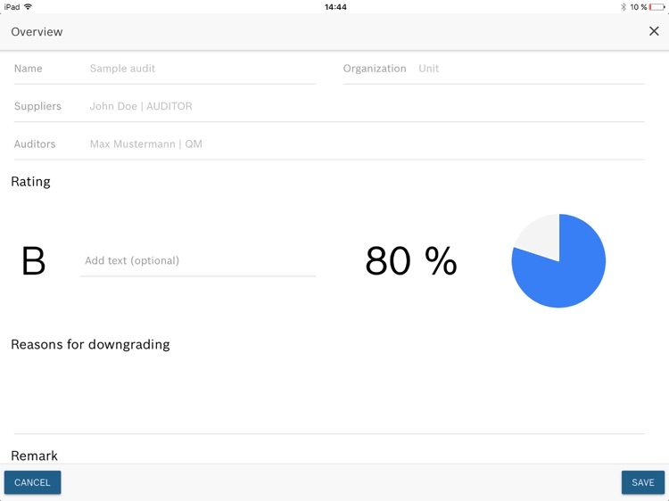 Audit Manager VDA 2016 screenshot-4