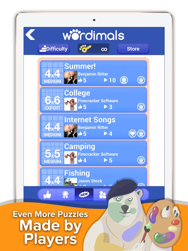 Wordimals - Word Search Screenshot