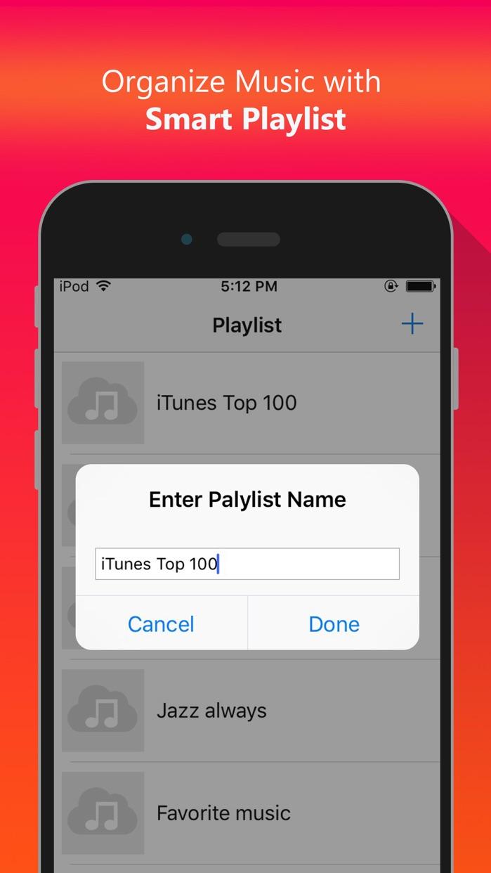 Cloud Music - Offline Mp3 Music Audio Player Screenshot