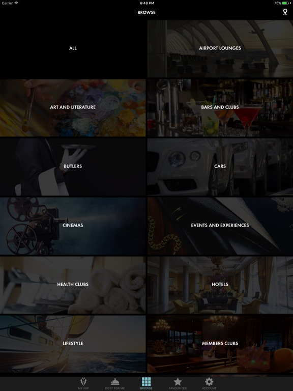 iVIP Black Screenshots