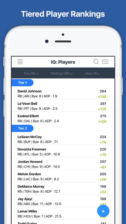 Fantasy Football Draft Kit IQ and Cheat Sheet 2017 screenshot-3