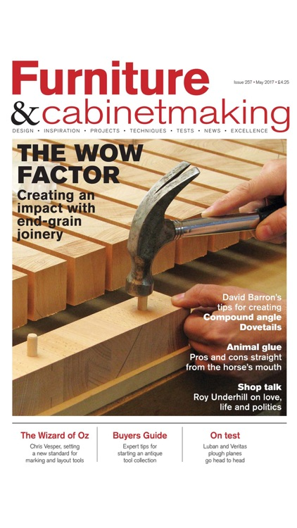 Furniture & Cabinetmaking - The world's leading publication for all cabinetmakers screenshot-3