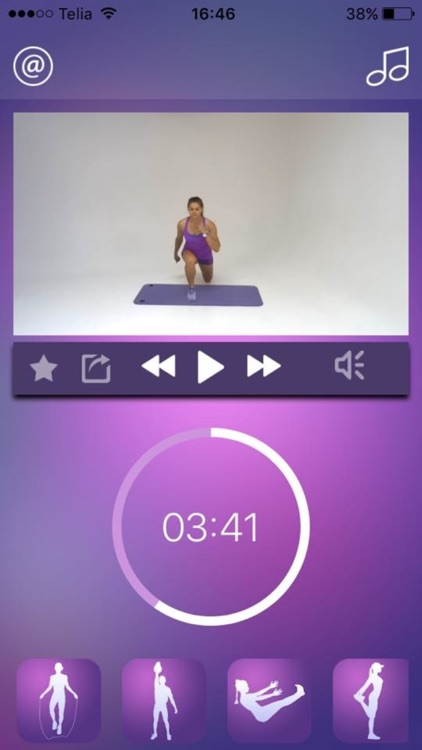 Cardio Workout - HIIT Challenge Training Exercises screenshot-3