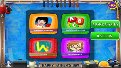 Kids Alphabet Games Pro screenshot 1