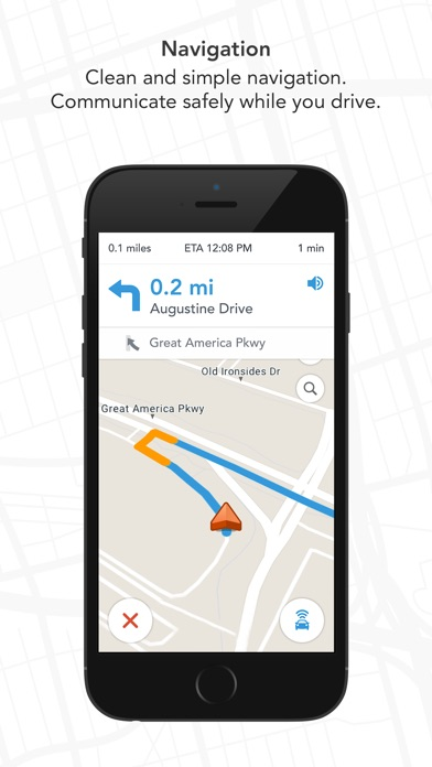 Screenshot for Scout GPS, ETA, Maps & Traffic in United States App Store