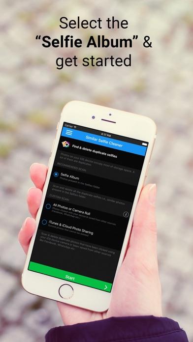 Similar Selfie Cleaner Screenshot on iOS