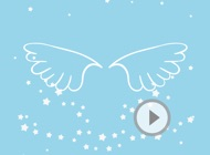 Animated Cute Angel Wing Stickers