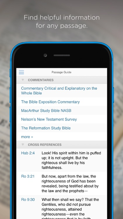 Logos: Daily Bible reading and study app screenshot-3