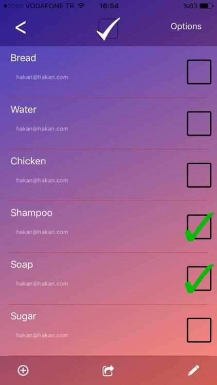 Smart Shared List screenshot-4