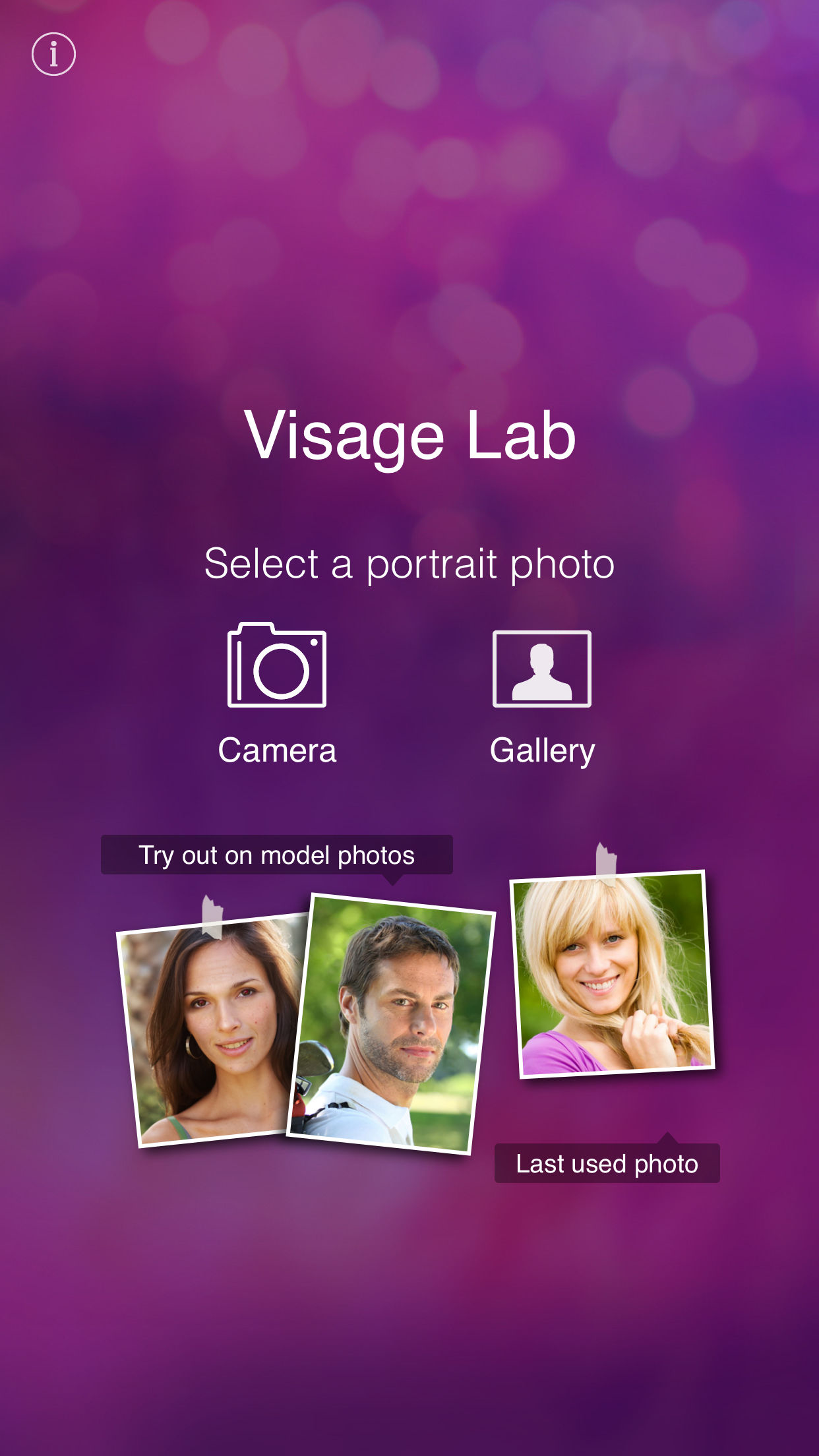 Visage: perfect photo make app Screenshot