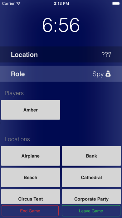 Spyfall – guess who's the spy Screenshot