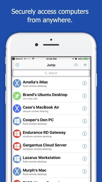 Jump Desktop (Remote Desktop) - RDP / VNC app image