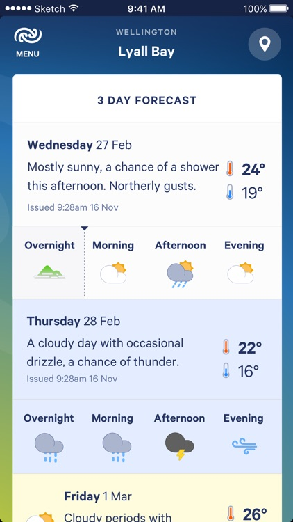 MetService screenshot-1