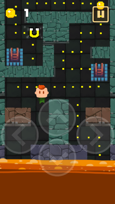 Lava Blocks Dungeon : Escape Floor Challenge! screenshot two