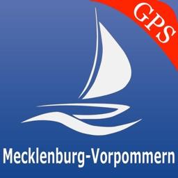 Mecklenburg - Pomerania lakes GPS nautical charts