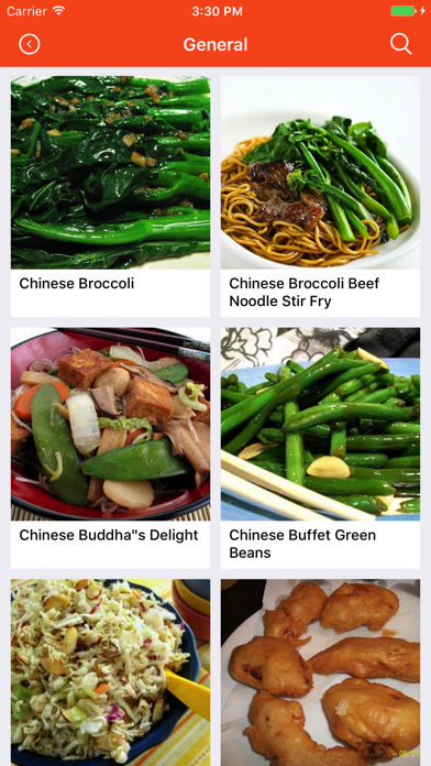 Chinese Recipes: Food recipes, cookbook, meal planScreenshot of 1