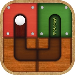 Unroll The Ball - Unlock Me slide puzzle