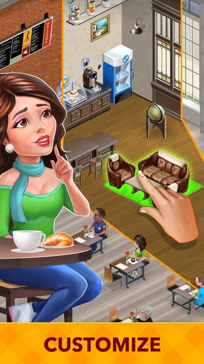 My Cafe: Recipes & Stories - World Restaurant Game screenshot-3
