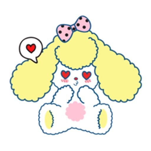 Hillary The Adorable Puppy Sticker icon