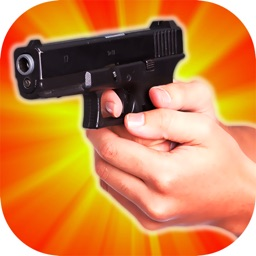 Machine gun simulator : Sounds on shake