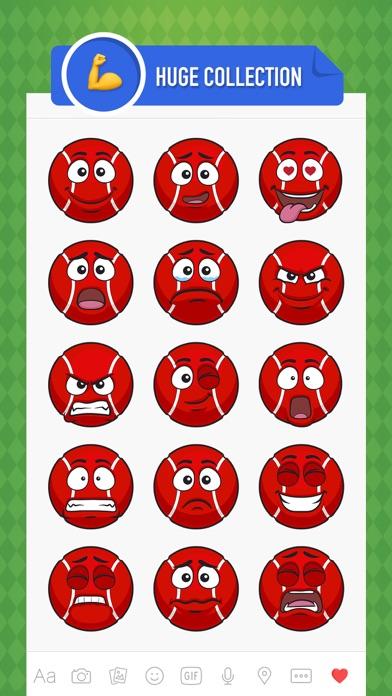 点击获取CricMoji - cricket emoji & stickers for iMessage