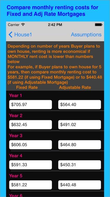 Buy House Or Rent screenshot-3