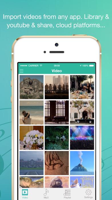 Video to MP3 Converter & Convert videos to audioのスクリーンショット1