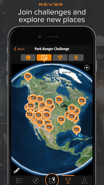 Rever Motorcycle GPS: Discover, Track and Share. app image