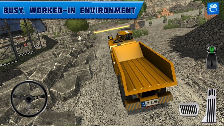 Quarry Driver 3: Giant Trucks screenshot-2