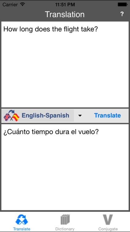 Spanish Translator (Offline)
