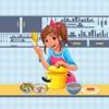 Super Cute Mom Cooking Mania Photo Stickers