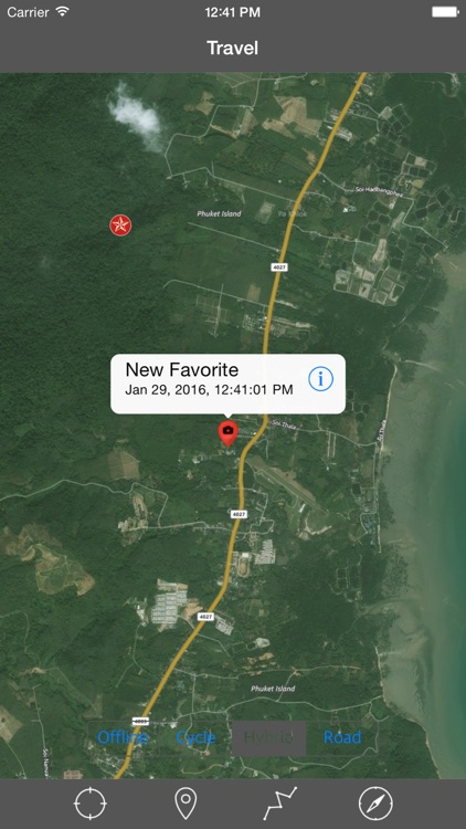 PHUKET ISLAND – GPS Travel Map Offline Navigator screenshot-4