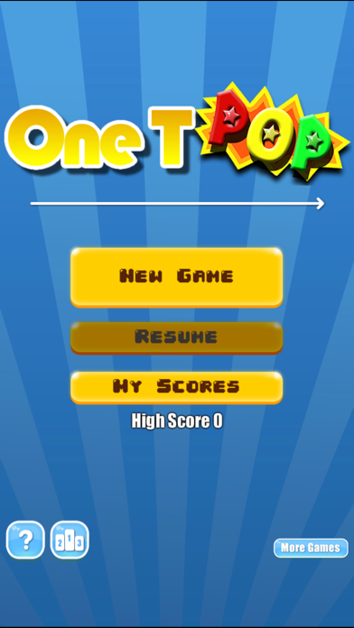 One T PoP - One touch Drawing Puzzle Game screenshot two