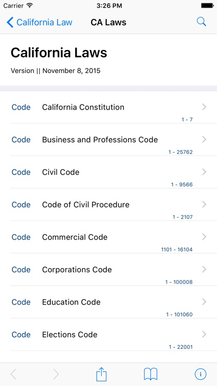 California Law (LawStack Series) screenshot-0