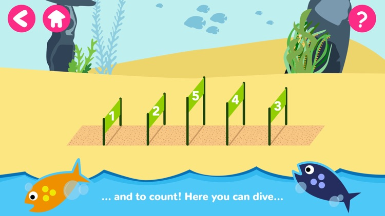 Math Tales Ocean: stories and games for kids screenshot-3