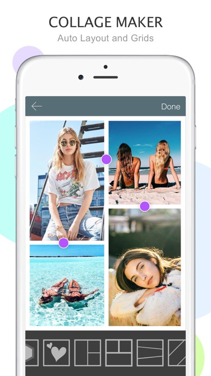 Mixoo - Photo Collage and Picture Editor, Camera
