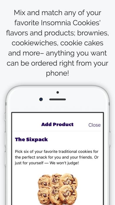 Insomnia Cookies Screenshot