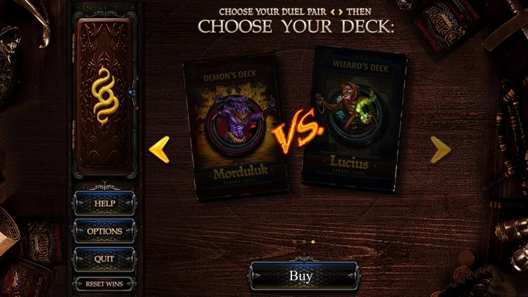 Demons vs. Wizards - Magic Card & Dice Game screenshot-4