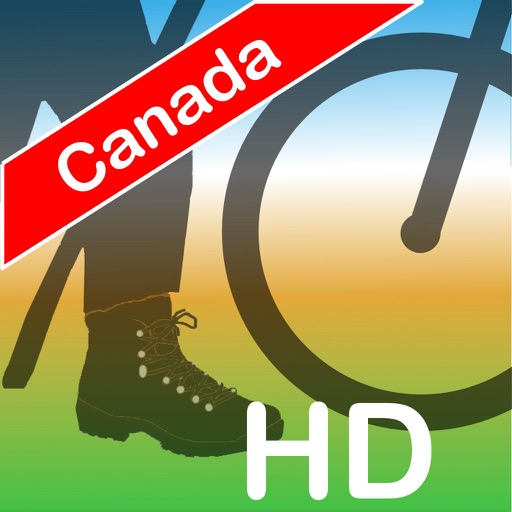 Terra Map Canada HD - GPS and topo maps for hiking