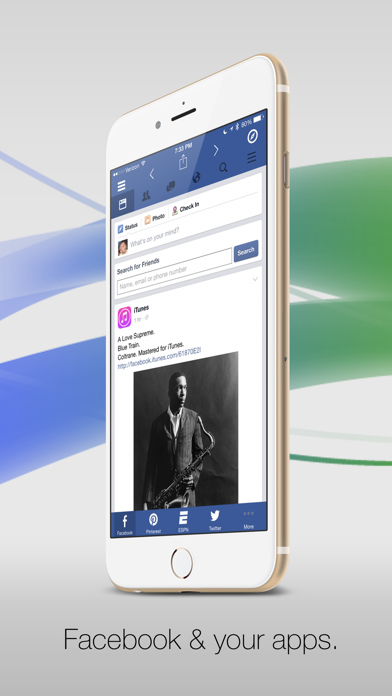 Facely HD for Facebook + Social Apps-0