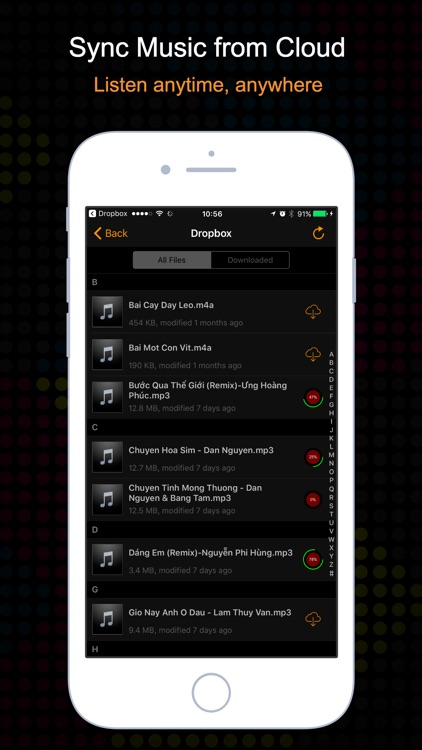 OneMusic - Music Player & Equalizer for Cloud screenshot-3